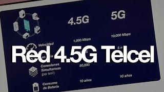 Nueva red 4.5G de Telcel - speedtest con velocidad impresionante!