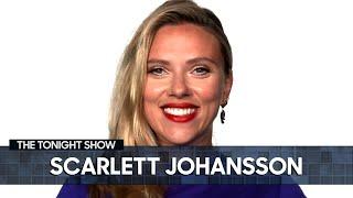 Scarlett Johansson Teases the Budapest Revelation in Black Widow   The Tonight Show