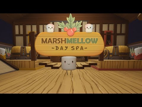 THE CUTEST GAME EVER!! | MarshMellow Day Spa