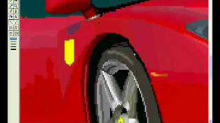 How to draw a Ferrari Enzo on MS Paint
