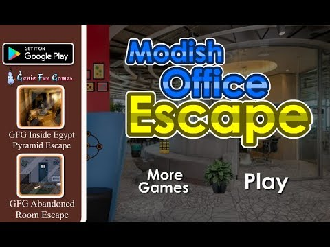 GFG Modish Office Escape Walkthrough [GenieFunGames]