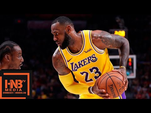 Los Angeles Lakers vs Portland Trail Blazers Full Game Highlights | 11.03.2018, NBA Season