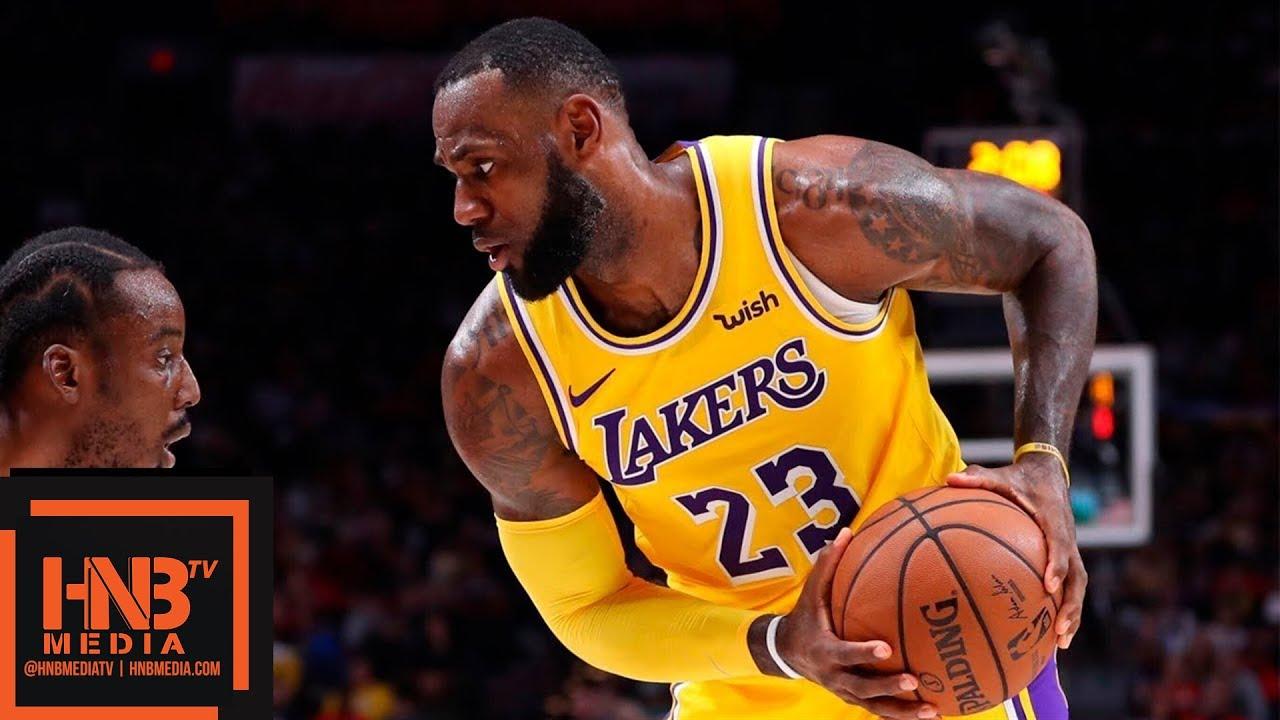 Los Angeles Lakers vs Portland Trail Blazers Full Game Highlights ...