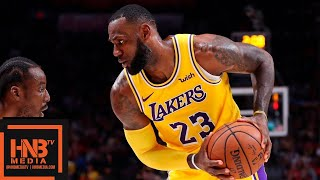 lebron lakers highlights