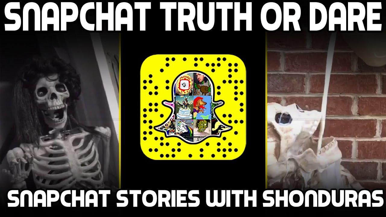 Snapchat truth or dare