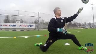 Torwart Training am Deutschen Fußball Internat