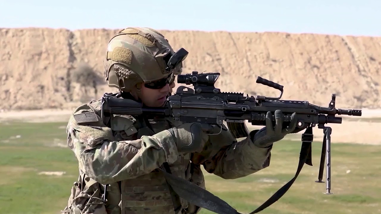 U.S Army • Buddy Team Live Fire Exercise