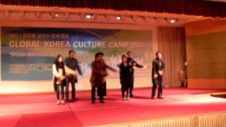 bhangra dance on pakistani traditional music in GKCC 2011