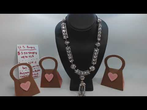 Live Vintage Costume Jewelry Sale, Sets, Rhinestones And More - Aired July 21st, 2018