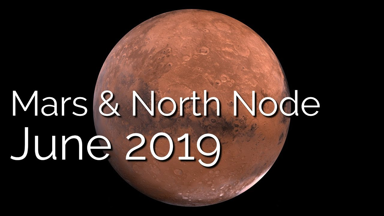 Mars Conjunct North Node June 12th 2019 - True Sidereal Astrology