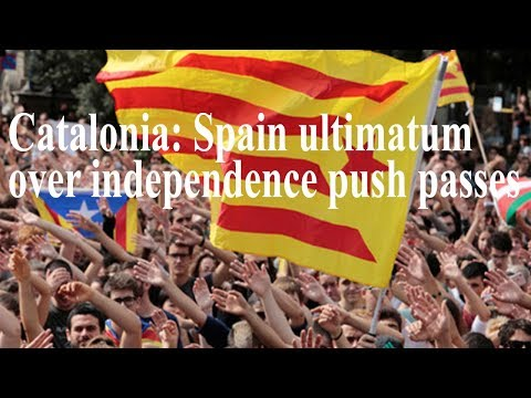 World News Today - Catalonia Spain ultimatum over independence push passes