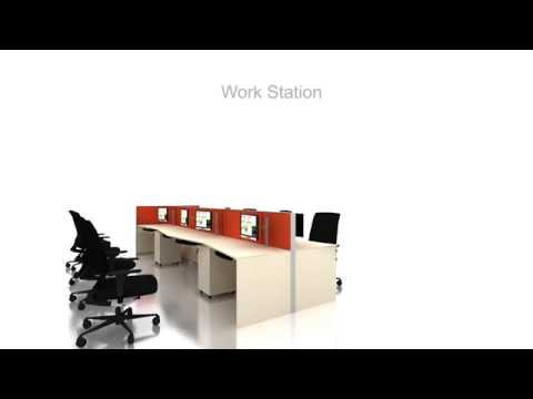 Work station module by Harmony Systems