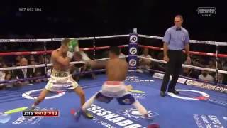 John Riel Casimero vs Charlie Edwards 10/09/2016 full fight