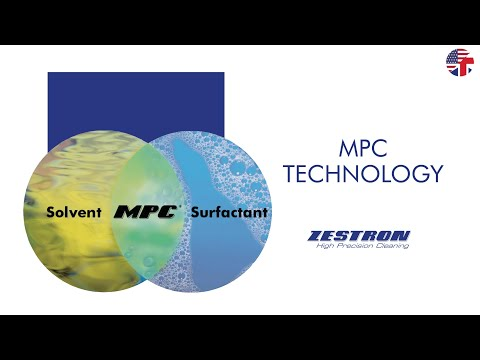 MPC® Technology - Water-based cleaning technology - ENGLISH
