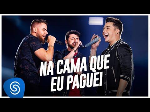 Wesley Safadão – Na Cama Que Eu Paguei (Letra) part. Zé Neto & Cristiano