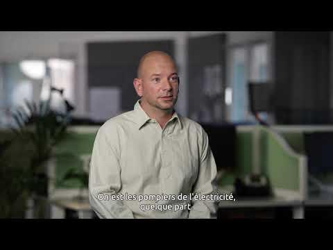 Portrait d'un métiers Enedis : Aurélien - conseiller clientèle au centre d'appels dépannage