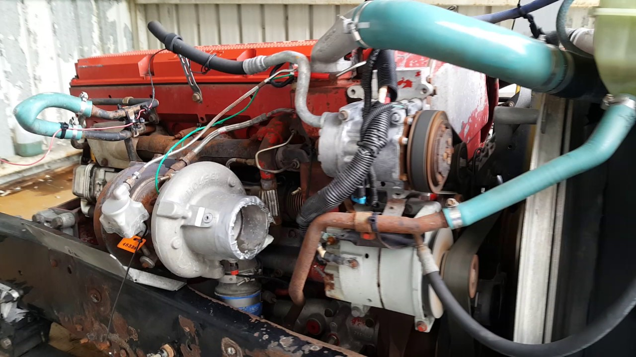 Engine, Cummins ISX, 500 HP, Stock#1A1E48336