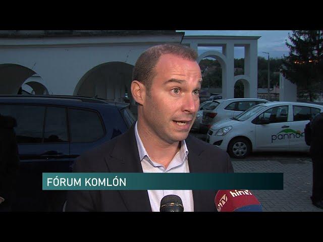 Hollik István, a Fidesz kommunikációs igazgatója Komlón
