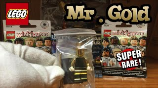 LEGO Mystery Box Opening Haul - Lego Mr. Gold?!?! (The Best Unboxing) + Bubble Wrap Fun