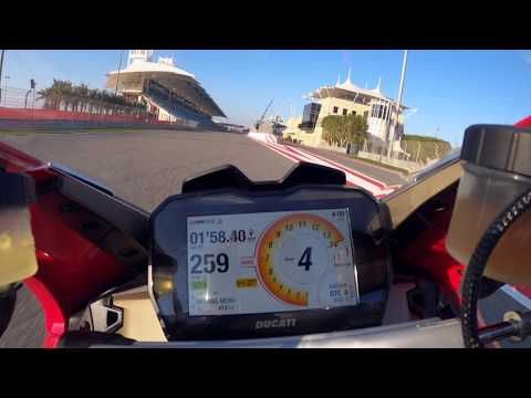 On Board The New Panigale V4 2020 At Bahrain International Circuit