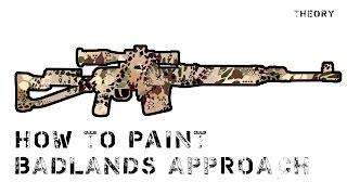 How to paint BADLANDS APPROACH / покраска в камуфляж BADLANDS APPROACH