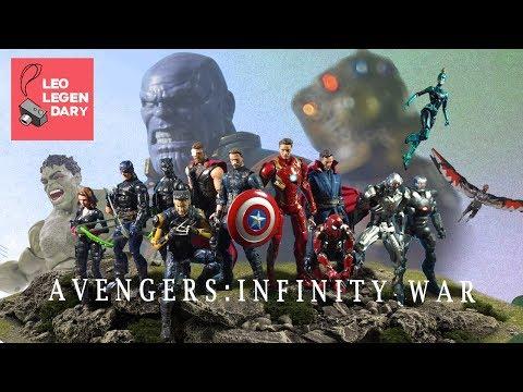Avengers Infinity War Full Stop-Motion Film