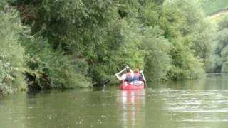 Boot-Kanadier-Fahren auf dem Altmain bei Volkach - Vogelsburg