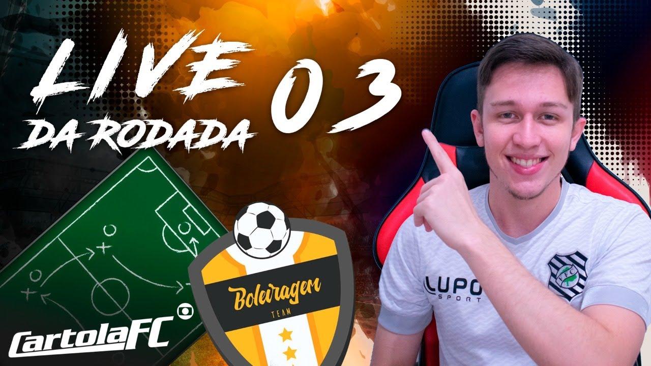 Download Cartola FC 2021 - LIVE DA MITADA RODADA 3