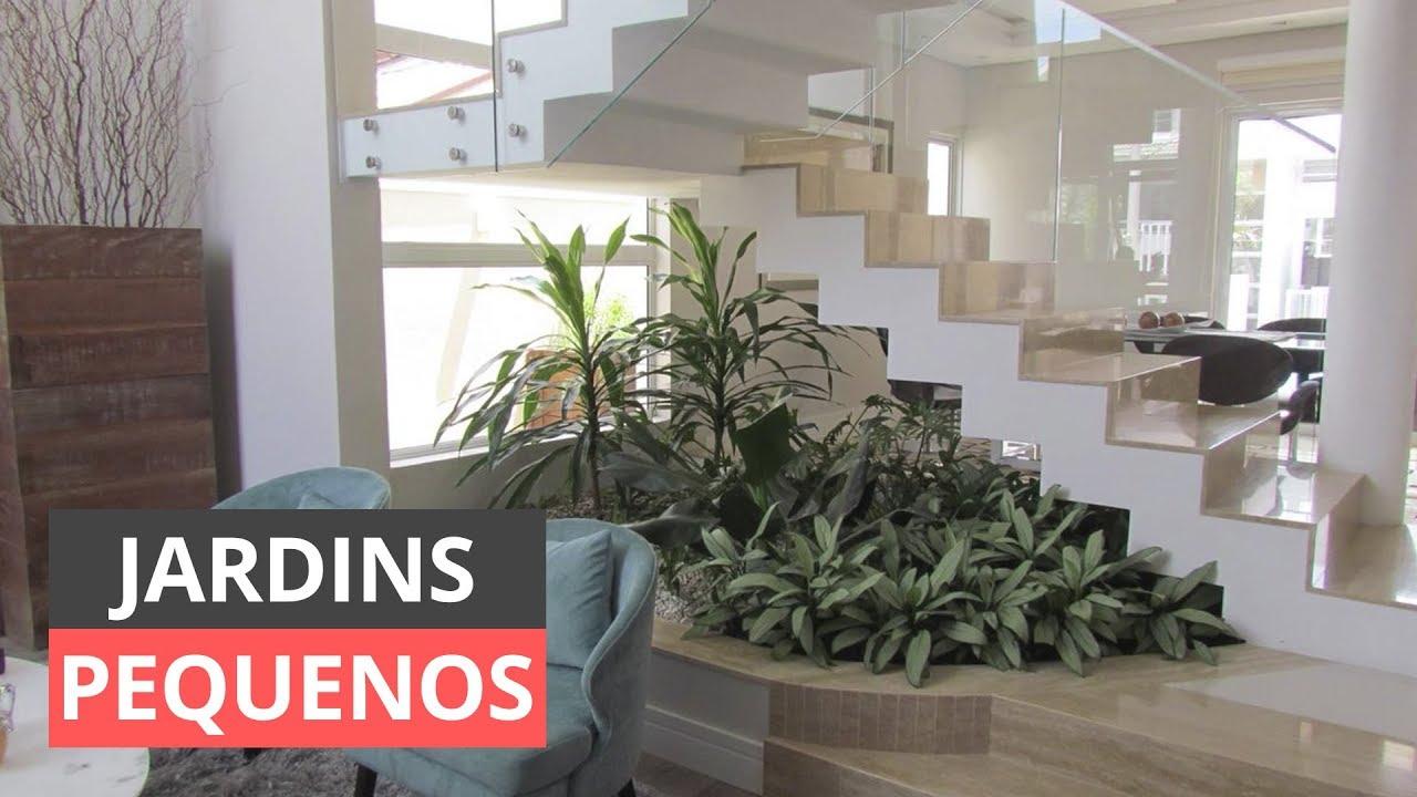 JARDINS PEQUENOS INSPIRE SE E SAIBA COMO DECORAR! YouTube -> Decorar Jardins Pequenos
