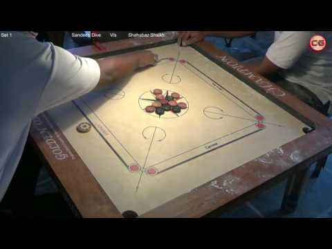 SF Sandeep Dive Vs Shahabaz Shaikh Set 1 Mumbai Suburban District Carrom Organised Mayor Cup