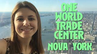 No observatório do One World Trade Center em Nova York