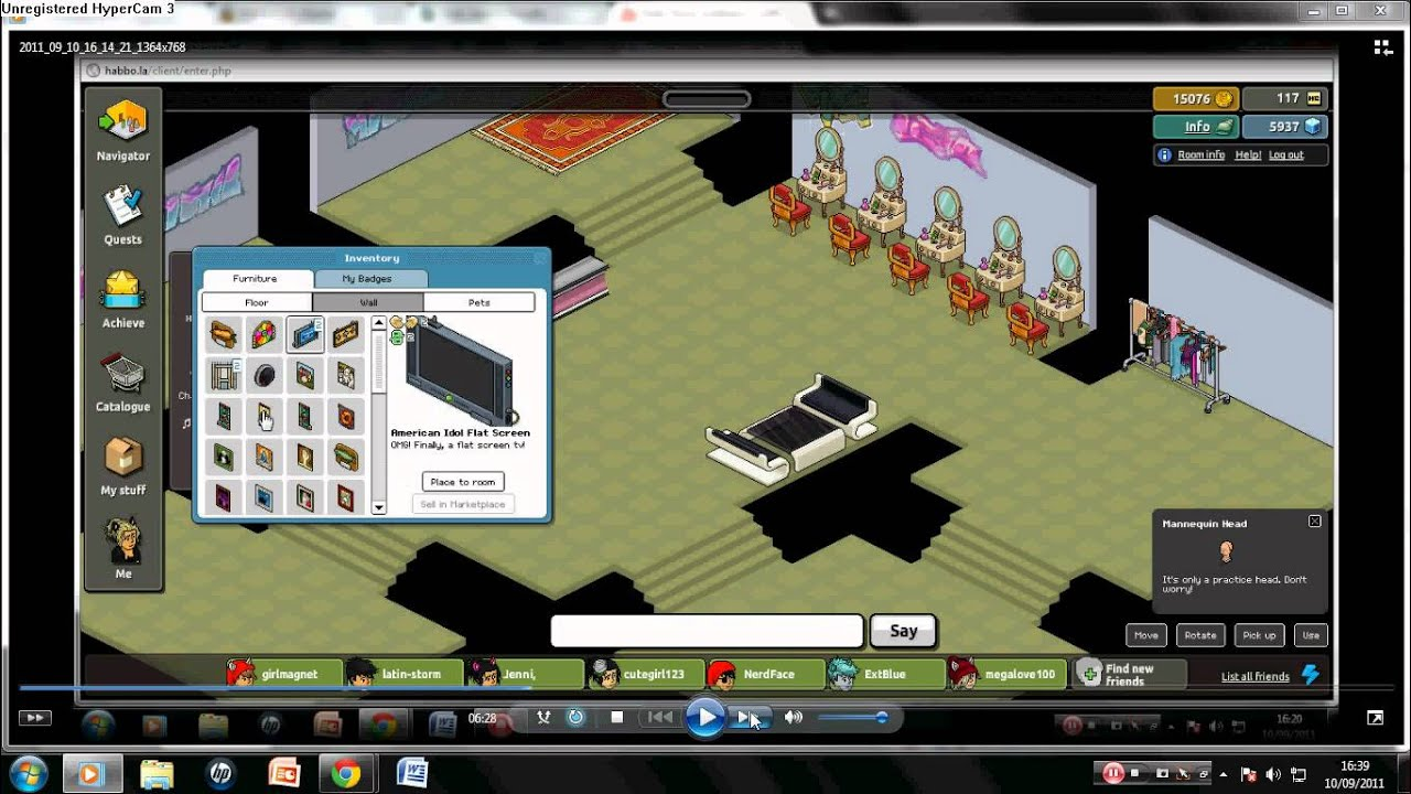 how to make booster habbo
