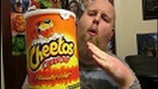 Cheetos crunchy Flamin hot. review..ep16