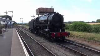 West Sumerset Railway with USA S160 6046 20/07/2018 thumbnail
