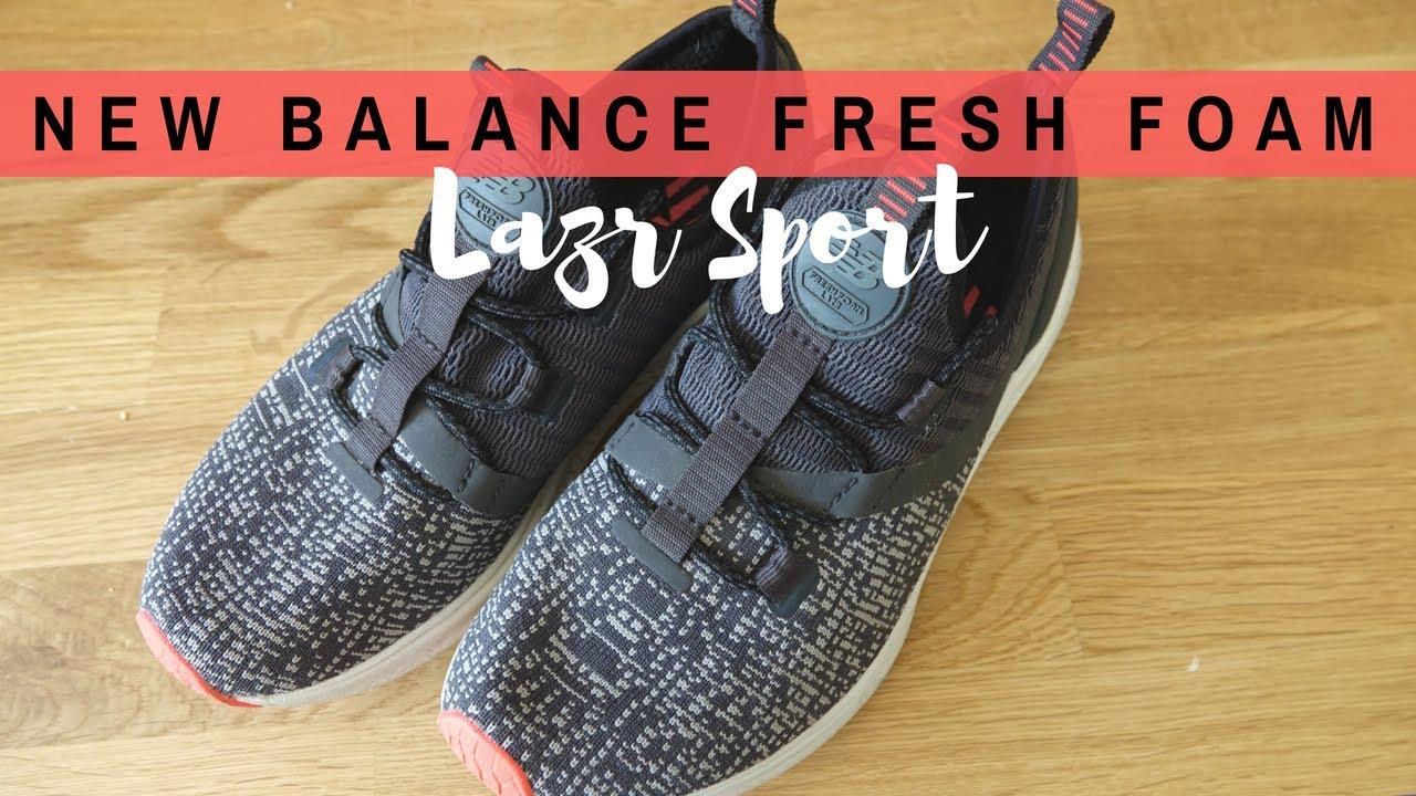 1f529cbeca8 New Balance Fresh Foam Lazr Sport- Tested   Reviewed - YouTube