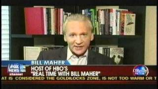 Bill O'Reilly Vs Bill Maher on Obama as President Who Own's the Debate
