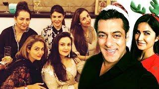 Salman Khan's Sister Arpita's Christmas Party 2017 Full Video HD -Katrina Kaif,Karan Johar