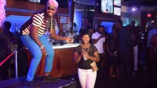 ARTIST KAPA SHANTI PERFORM AT DJ BLACKBARBIE BIRTHDAY PARTY AT MINGLES NIGHTCLUB