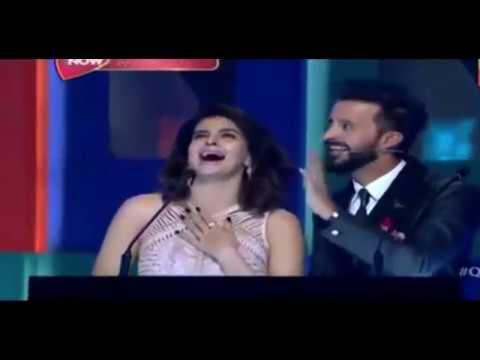 Atif Aslam Propose His Wife | Q Mobile Award Show