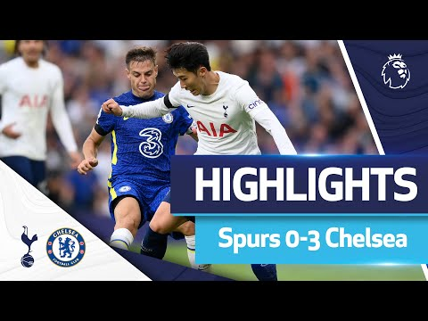 Second-half goals give Spurs first home loss of the season |  HIGHLIGHTS |  Spurs 3-0 Chelsea