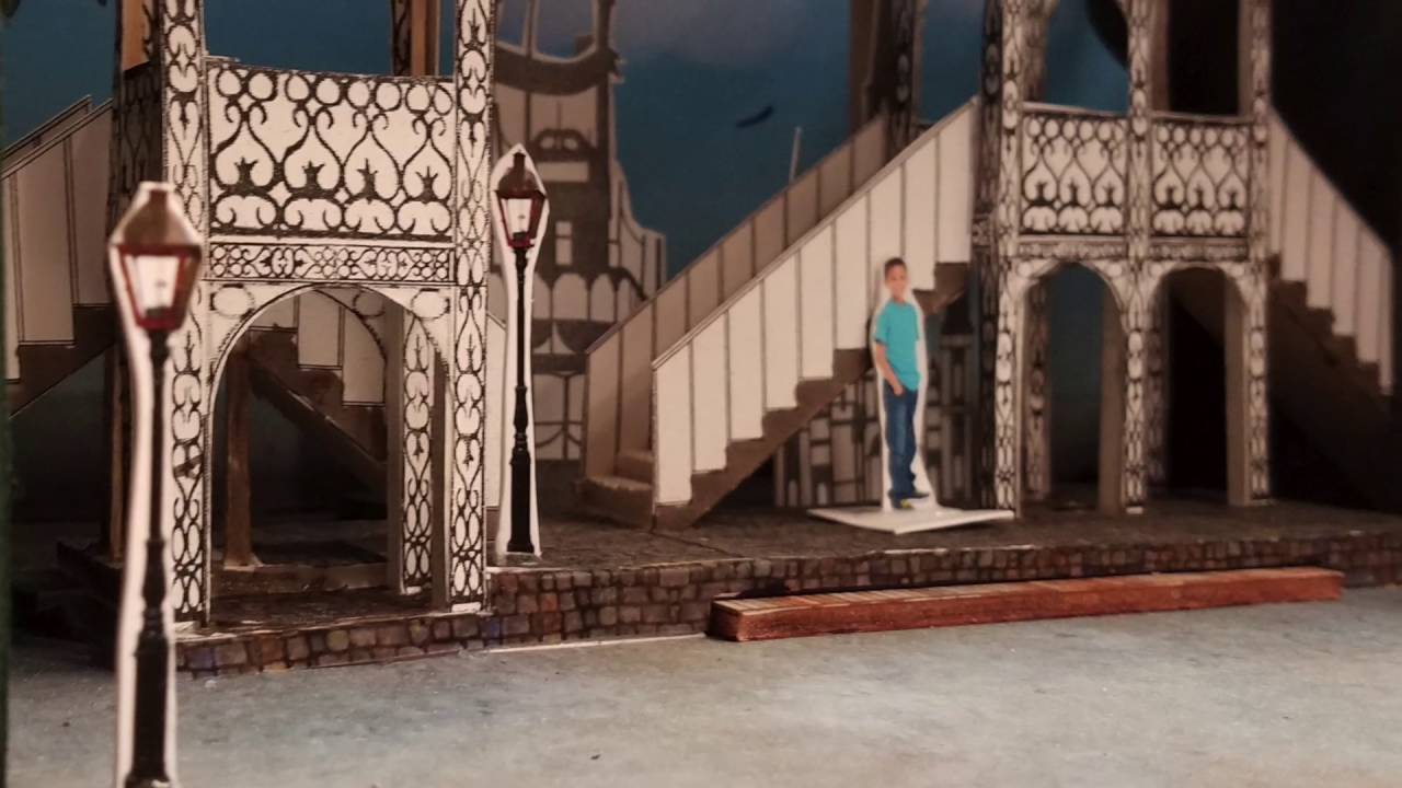 BEHIND THE SCENES: Set Design For MAGIC TREE HOUSE: A NIGHT IN NEW ORLEANS  At Stages Theatre Company