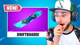 *NEW* Fortnite DRIFTBOARD!