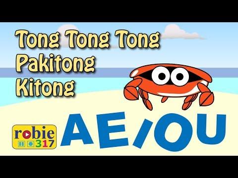 Tong Tong Tong Pakitong-Kitong Animated | Awiting Pambata | Tagalog Nursery Rhymes