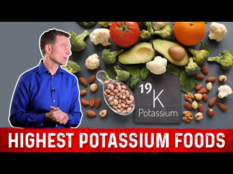 The Highest Potassium Foods