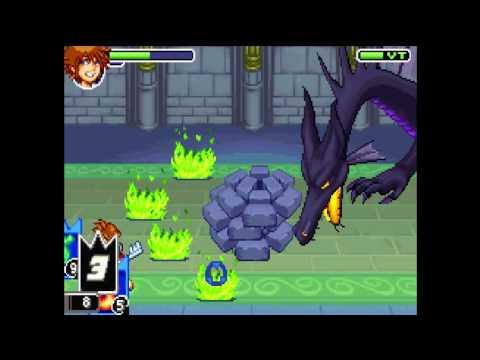 Guía Kingdom Hearts Chain of Memories maratón de Navidad parte 29 ¡¡¡Maléfica, Game Over!!!