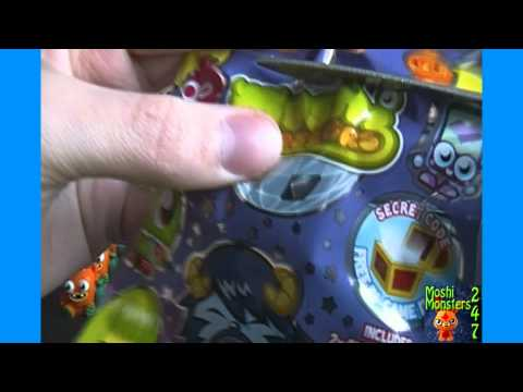 Moshi Monsters Moshlings Series 3 Blind Pack BOX Opening Part 2 / 2