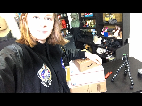 LIVE STREAM: opening packages at the office