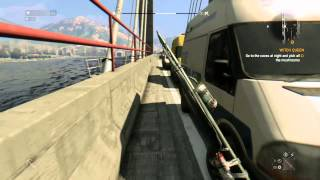 Dying light - getting to the other side of the bridge