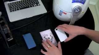 ST-1520 3d mini sublimation iphone case corners - training video