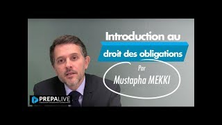 Introduction au droit des obligations